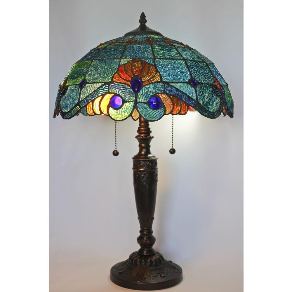 Blue Vintage Table Lamp