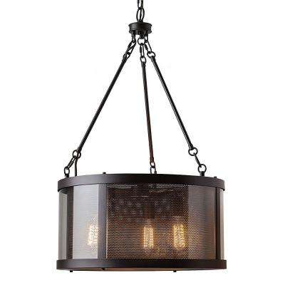 Bluffton 3-Light Oil Rubbed Bronze Chandelier