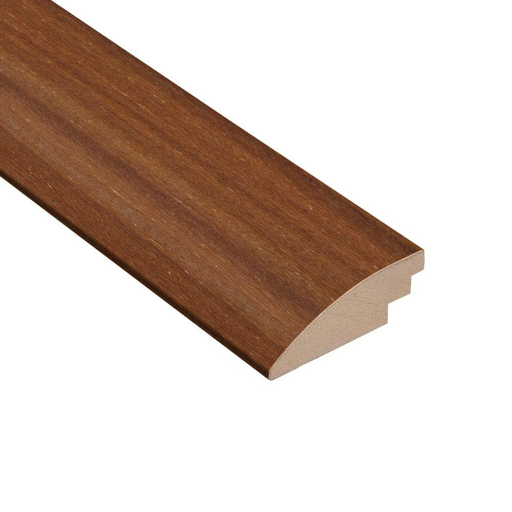 Home Legend Brazilian Teak Avalon 3/8 in. Thick x 2 in. Wide x 78 in. Length Hardwood Hard Surface Reducer Molding