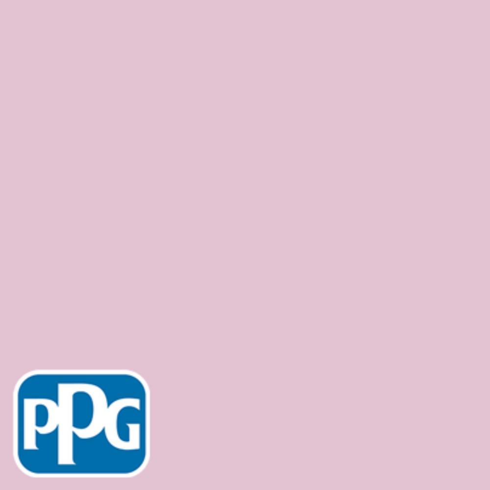 PPG TIMELESS 1 gal. #HDPPGR06D Pink Mauve Satin Exterior One-Coat Paint with Primer