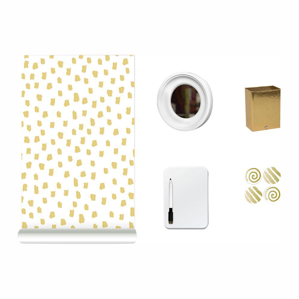 2b5641b861be Wall Pops Metallic Dot, Dot, Dot Locker Kit Decal WPL2725 - The Home ...