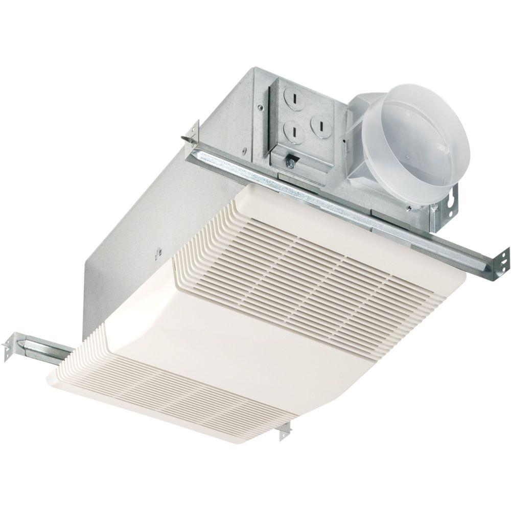 NuTone Heat-A-Vent 70 CFM Ceiling Bathroom Exhaust Fan with 1300-Watt