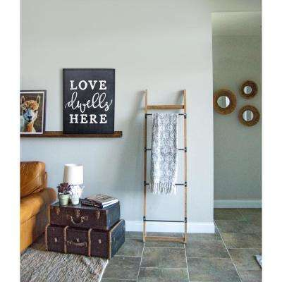 "15.75 in. W x 20 in. H ""Love Dwells Here"" by JLB Printed Wall Art"