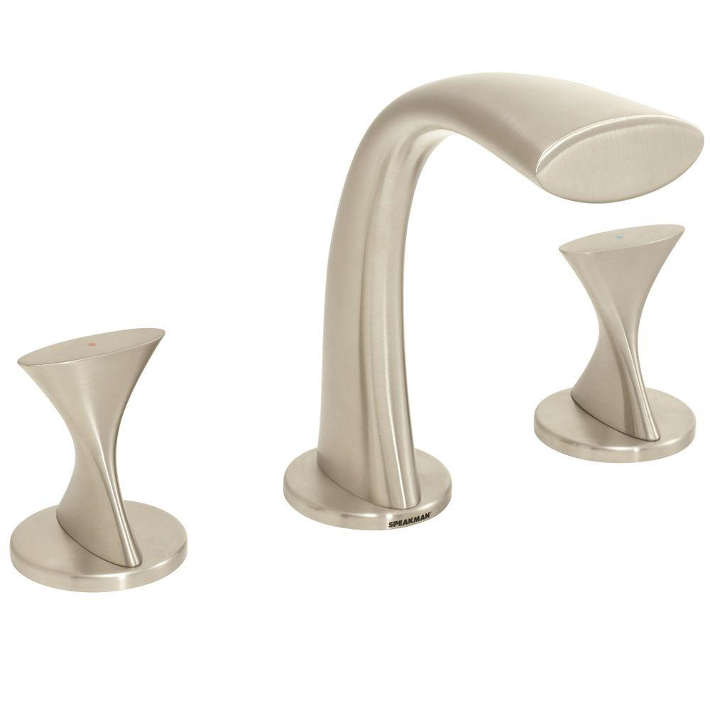 Speakman Pearce 8 in. Widespread 2-Handle Bathroom Faucet in Brushed Nickel