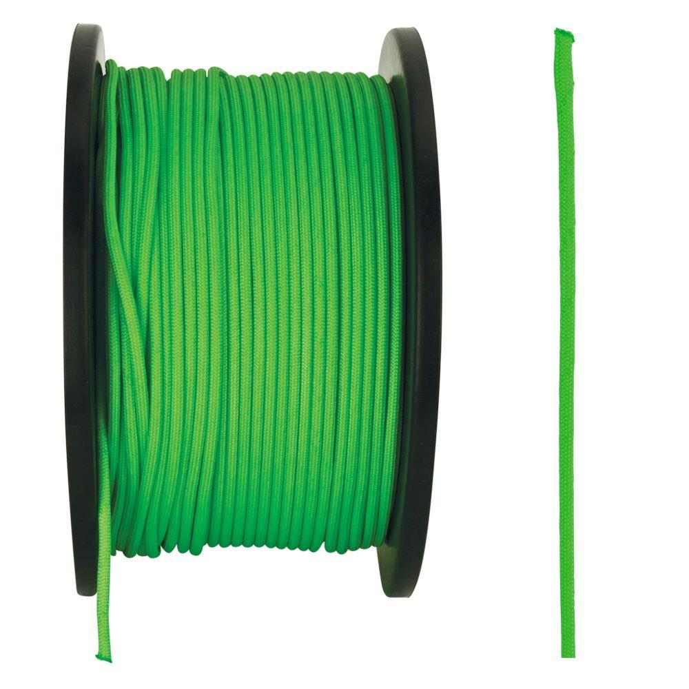 1/8 in. x 500 ft. Neon Green Paracord