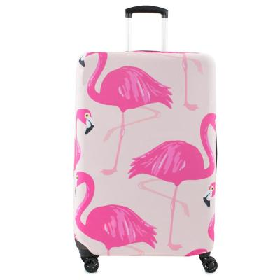 Prints 28-30 in. Flamingo Luggage Cover