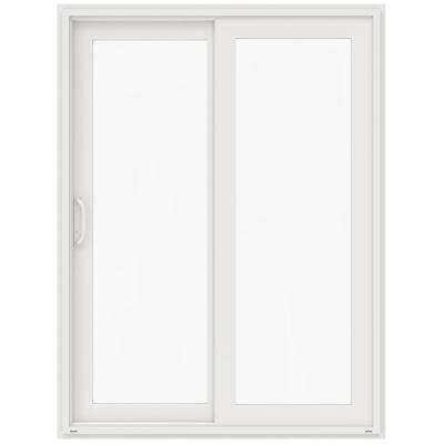 60 in x 80 in v 4500 white vinyl left hand full - 60 Patio Door