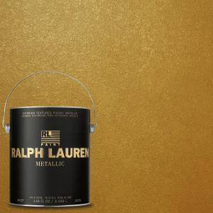 1-gal. Parlor Gold Metallic Specialty Finish Interior Paint