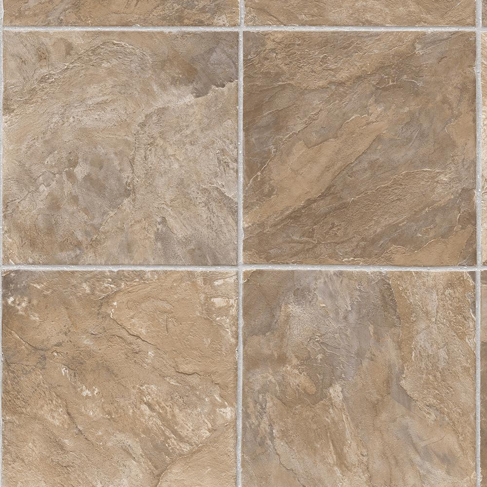 Trafficmaster Rustic Slate Neutral 12 Ft Wide Residential