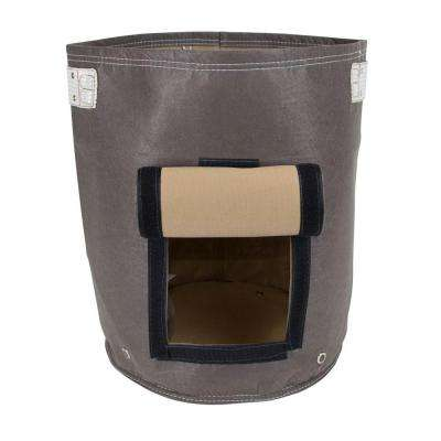 BloemBagz Potato 9 Gal. Peppercorn Fabric Planter
