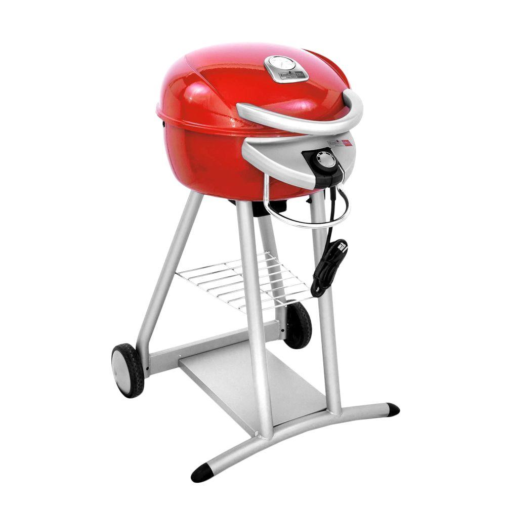 Char-Broil Patio Bistro TRU-Infrared Electric Grill in Salsa Red
