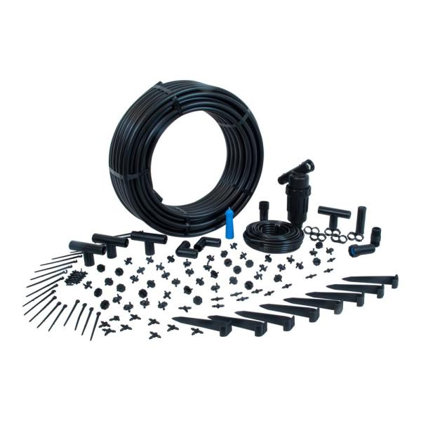 Complete Drip Kit for Rain Barrel Irrigation (for 50 Plants)