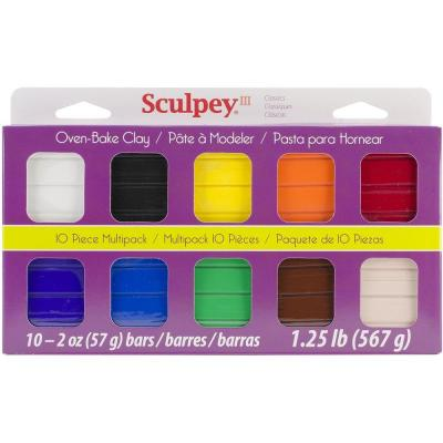 Polymer Clay Multipack 2 oz. Classic Collection (10-Pack)