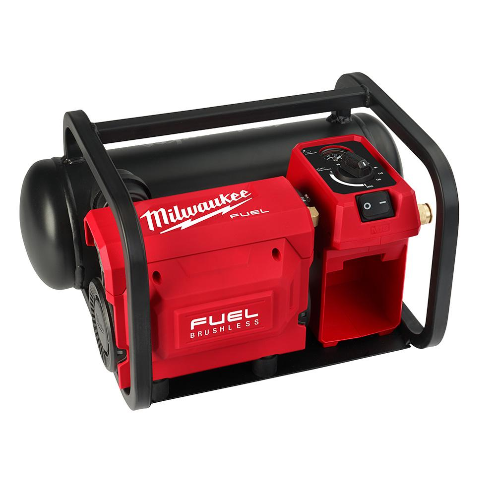 M18 FUEL 18-Volt Lithium-Ion Brushless Cordless 2 Gal. Electric Compact Quiet Compressor (Tool-Only)
