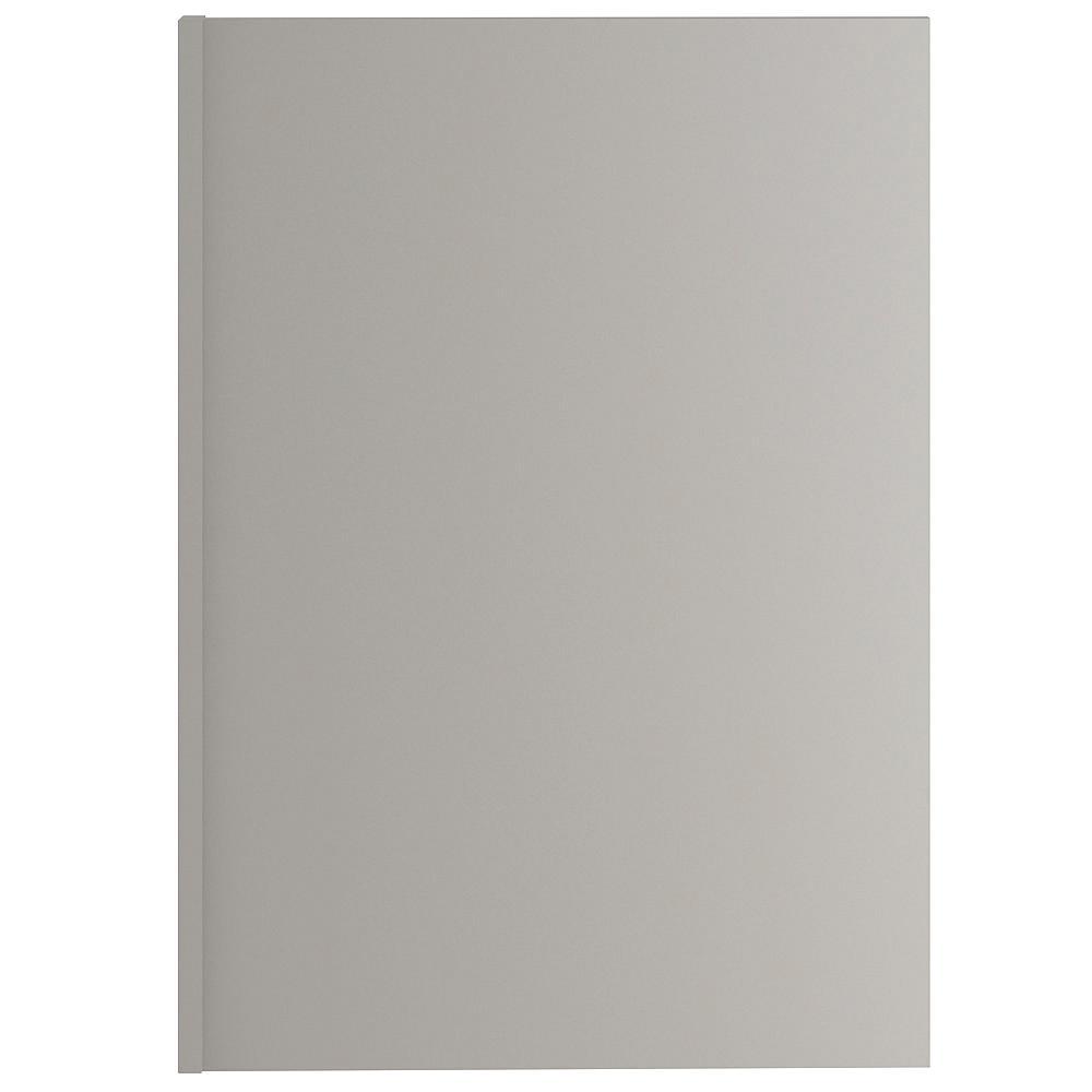 Hampton Bay 1.5x34.5x24in. D Dishwasher End Panel in Gray