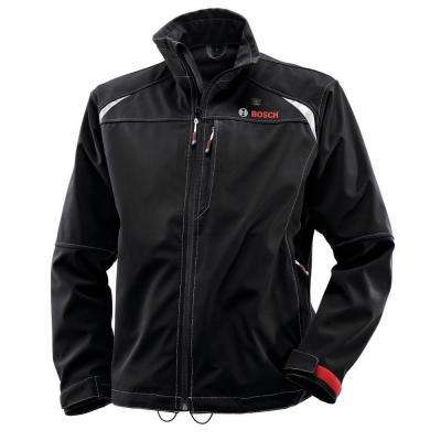 12-Volt Men's Small Black Heated Jacket Kit