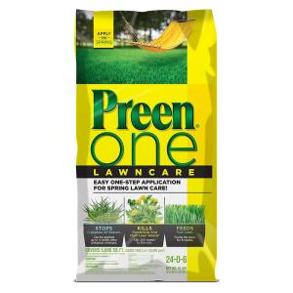 Preen 18 lb. One Lawncare by Preen
