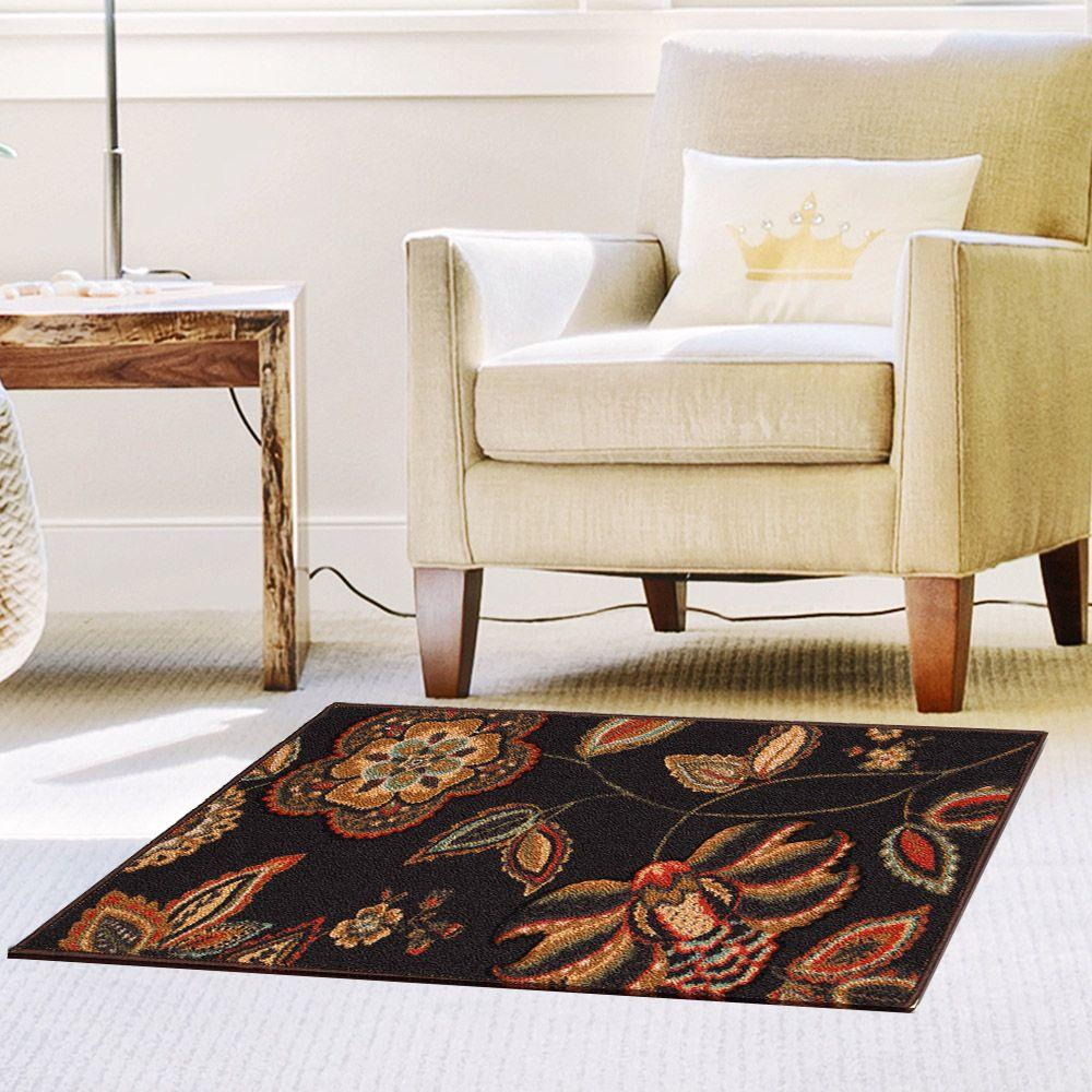 Home Dynamix Brentwood Dark Brown 19 6 In X 31 5 In Scatter Mat 1