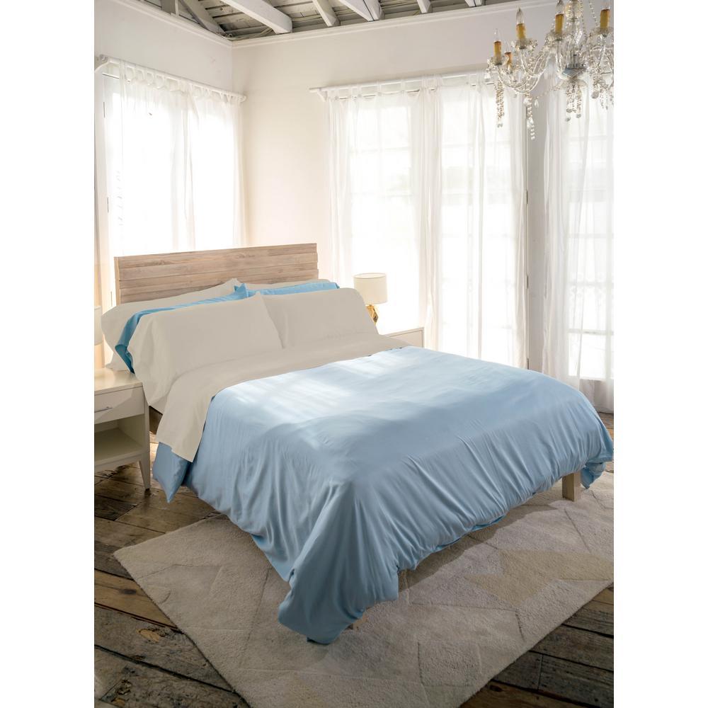 Siesta 3-Piece Linen Cotton Twin Sheet Set