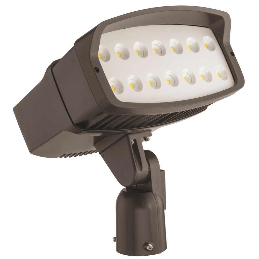 Lithonia Lighting Ofl2 Led Bronze Outdoor Flood Light Ofl2