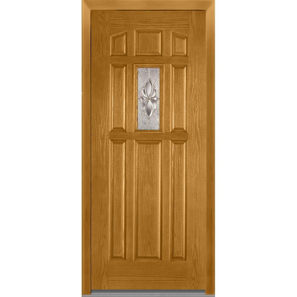 2 Panel 36 X 96 Doors With Glass Fiberglass Doors