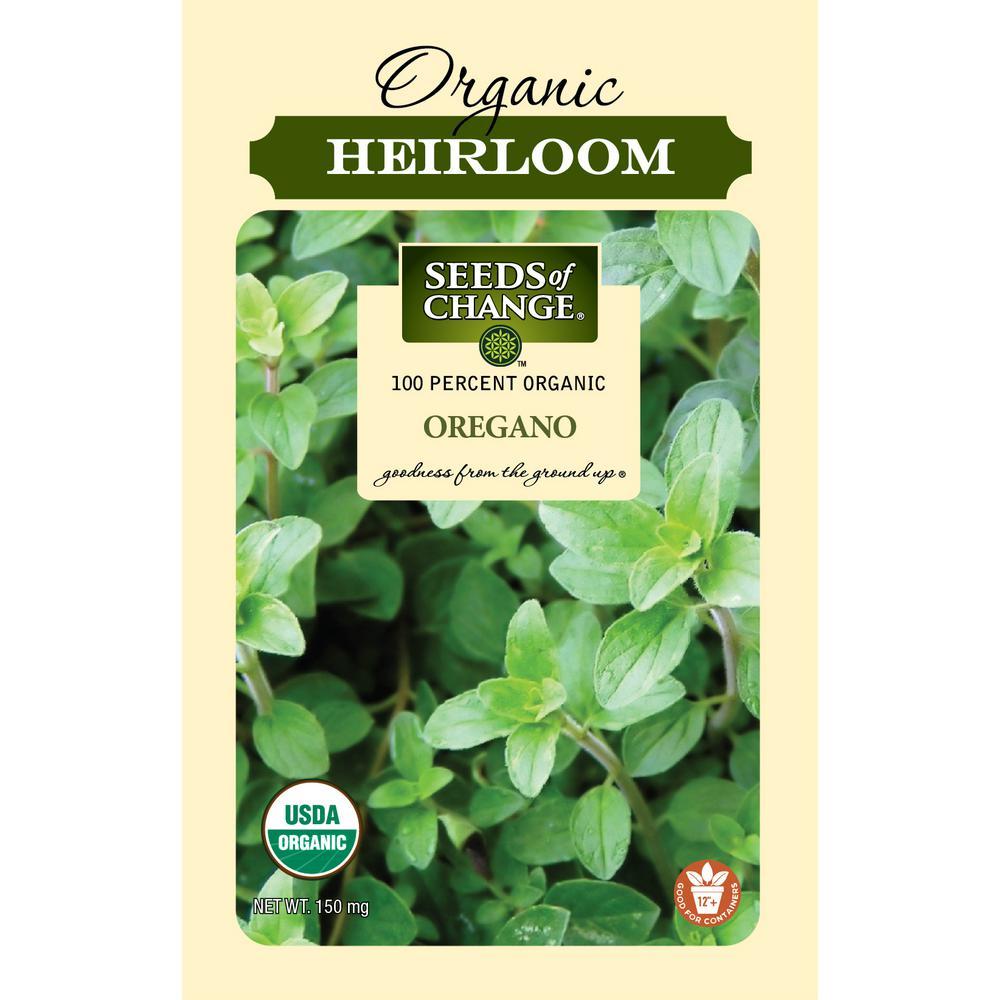 Organic Greek Oregano Seed
