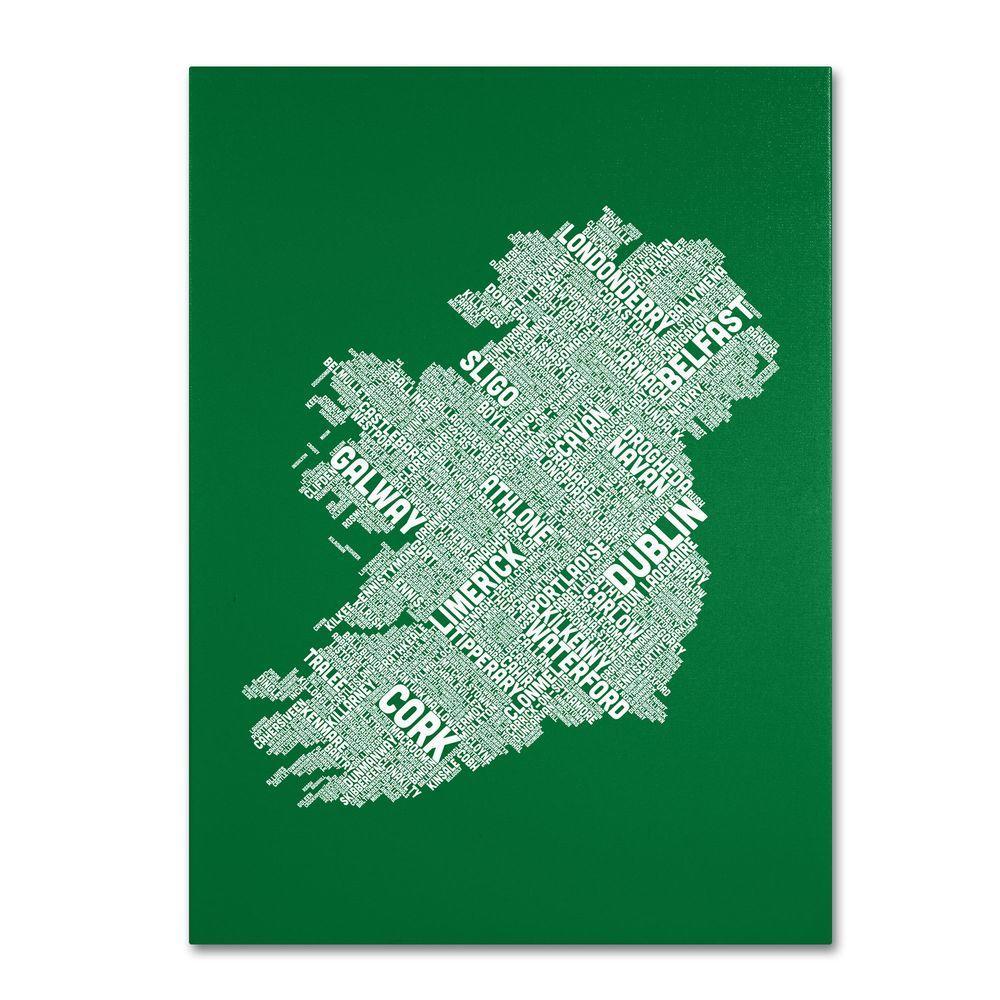 Trademark Fine Art 19 in. x 14 in. Ireland IX Canvas Art