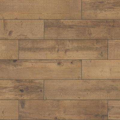 Denali Sunset Brown 8 in. x 36 in. Matte Porcelain Floor and Wall Tile (367.2 sq. ft. / pallet)