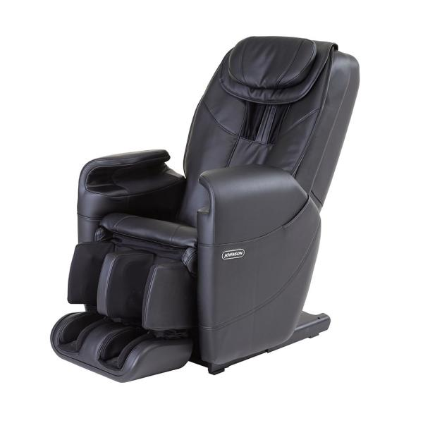 Johnson Wellness Black Faux Leather Reclining Massage Chair J5600