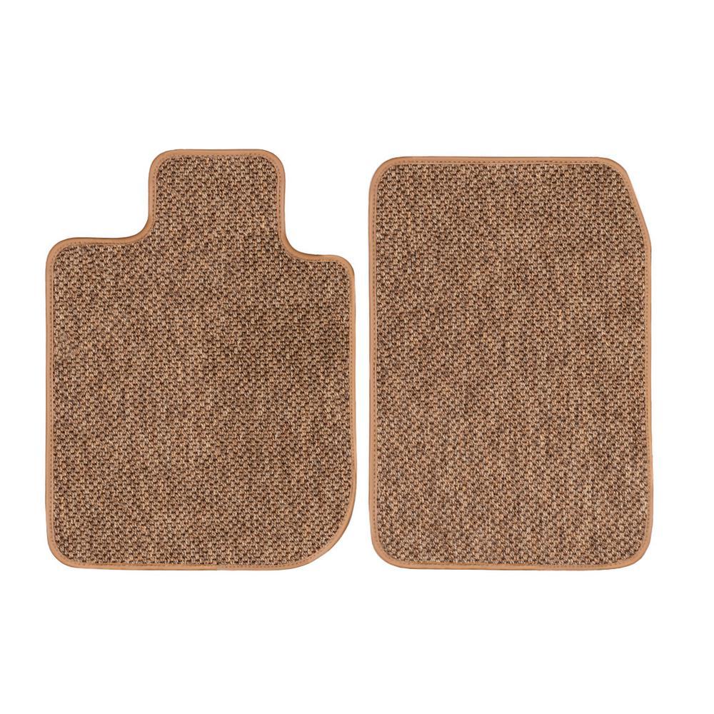 CFMBX1RN7015 Nylon Carpet Coverking Custom Fit Front and Rear Floor Mats for Select Renault Medallion Models Black