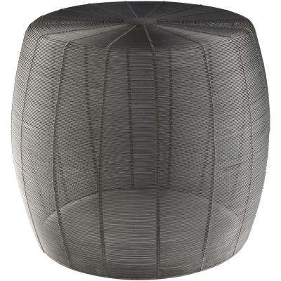 Oeno Side Stool in Black