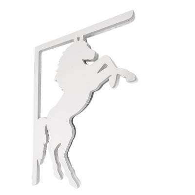 Decorative 16 in. PVC Horse Mailbox or Porch Bracket