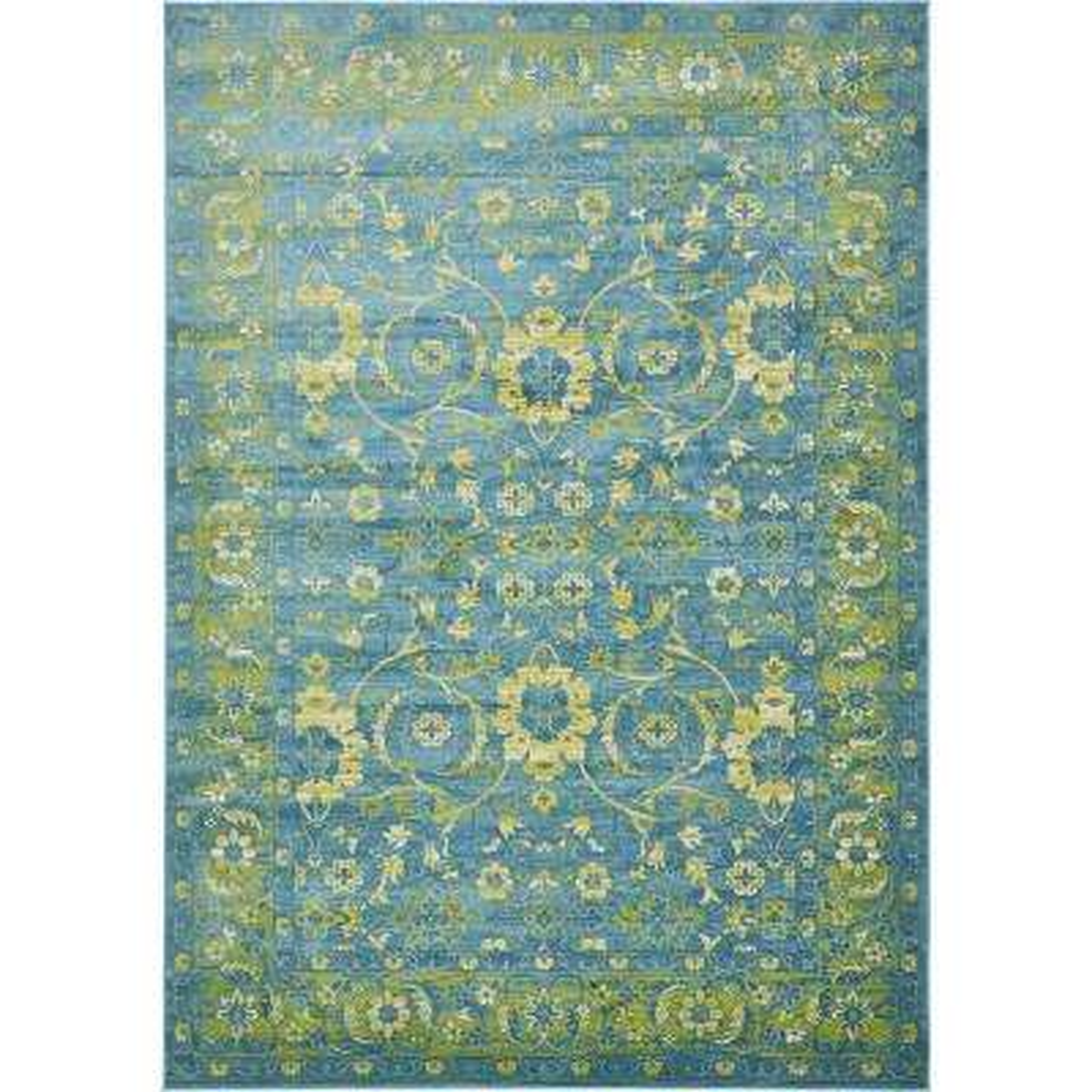 Imperial Ottoman Blue 8' 0 x 11' 6 Area Rug