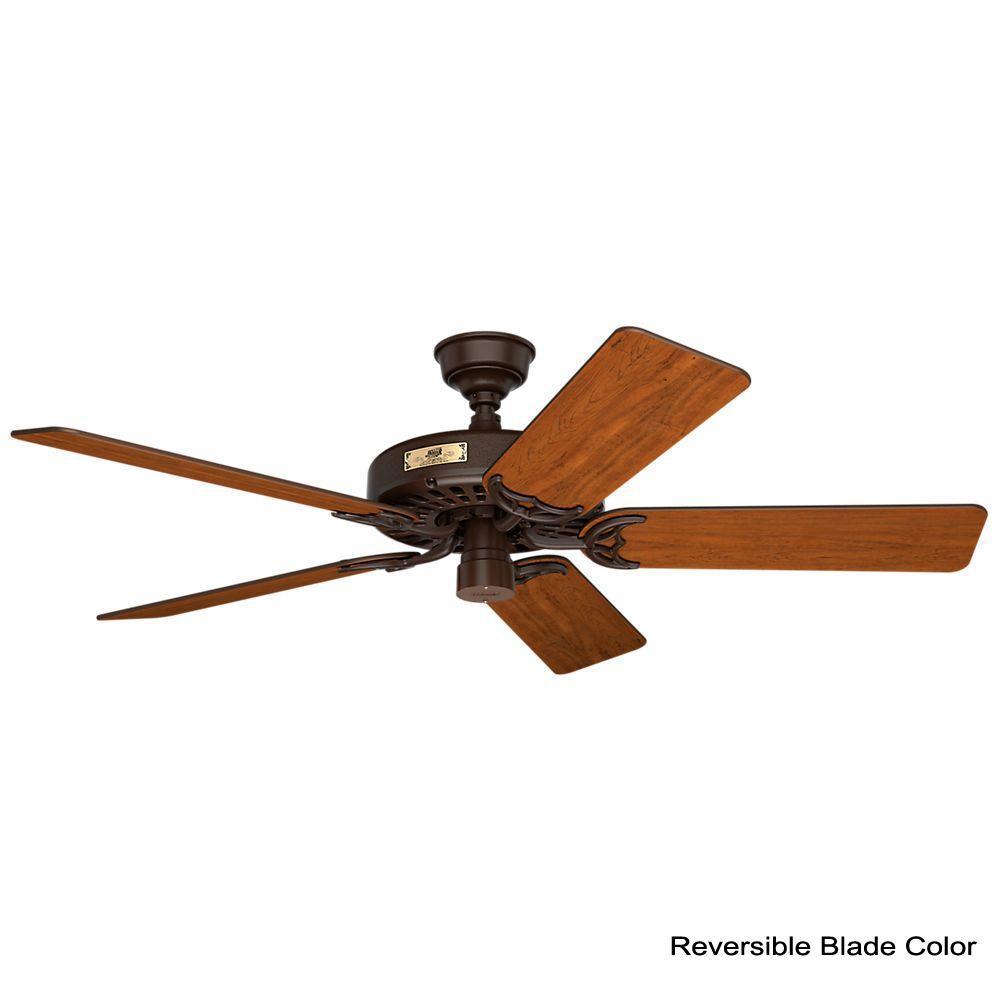 hunter original 52 in indoor outdoor chestnut brown ceiling fan  11b0a robbins myers fan wiring diagram