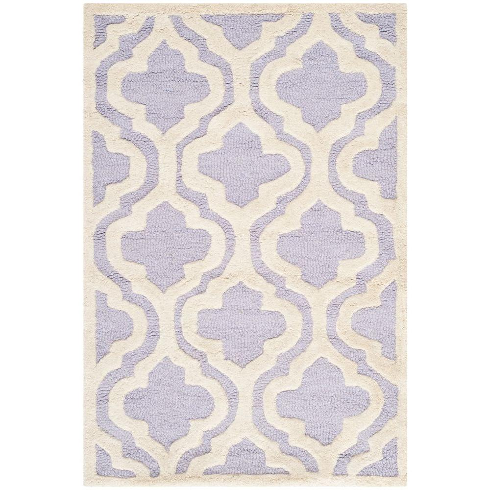 Safavieh Cambridge Lavender/Ivory 2 ft. 6 in. x 4 ft. Area Rug