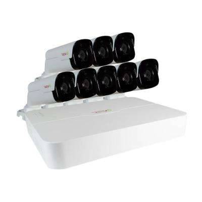 Ultra 8-Channel HD 2TB Surveillance NVR with (8) 4 Megapixel Bullet Cameras