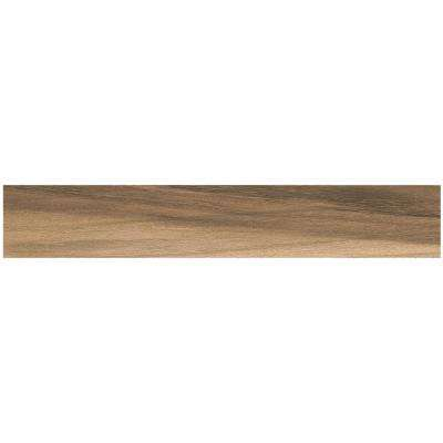 Woodbury Light Brown 6 in. x 36 in. Color Body Porcelain Floor and Wall Tile (12.78 sq. ft. / case)