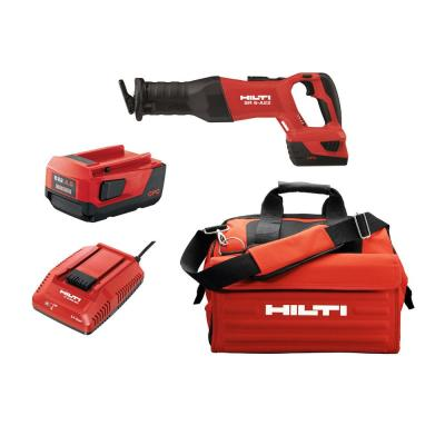SR6 A 22-Volt Lithium-Ion Cordless Brushless Reciprocating Saw Kit