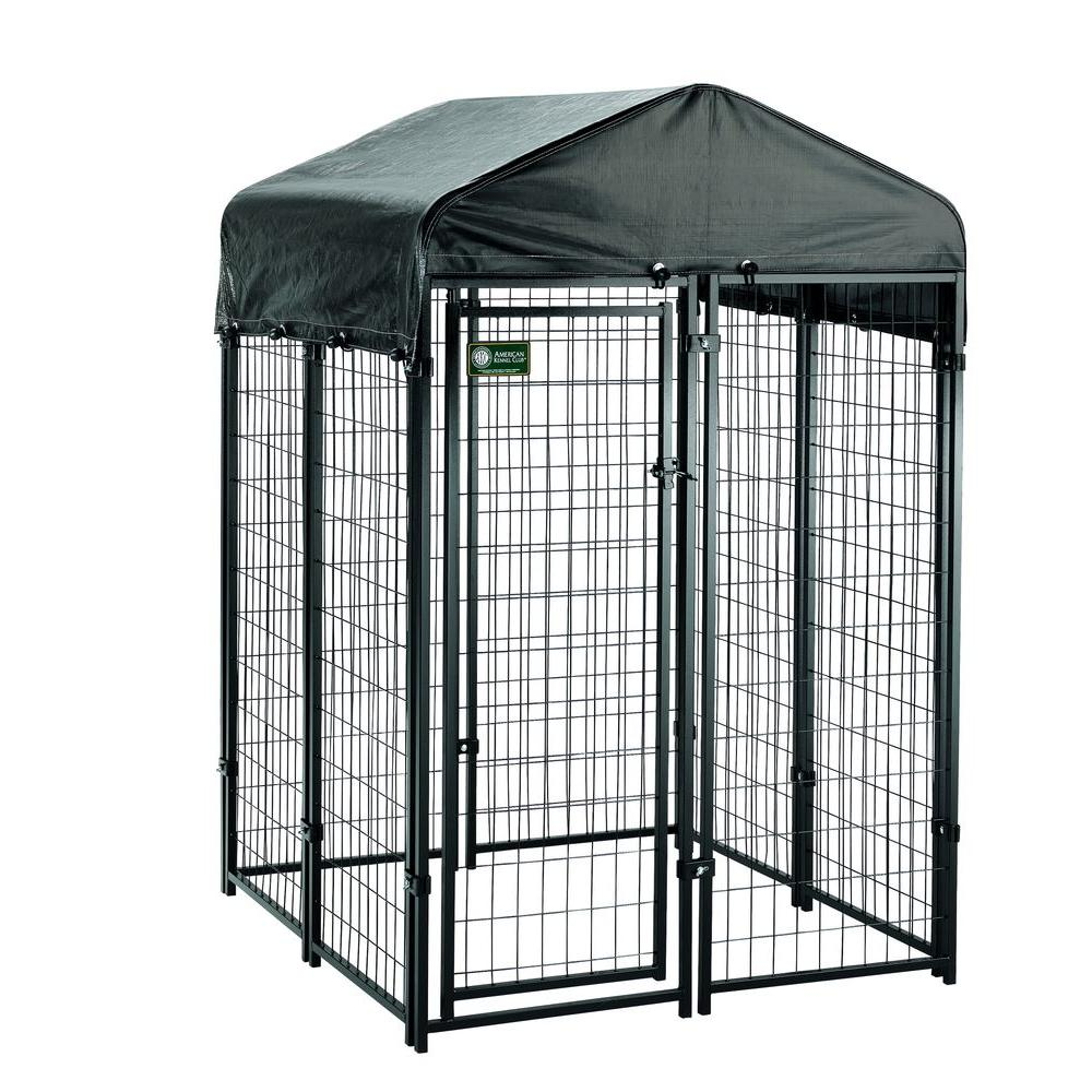 American Kennel Club 4 Ft X 6 Uptown Premium Dog Kit 308605akc The Home Depot