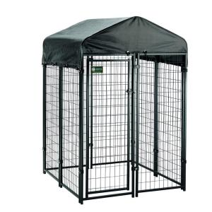 american kennel club 4 ft x 4 ft x 6 ft uptown premium dog kennel