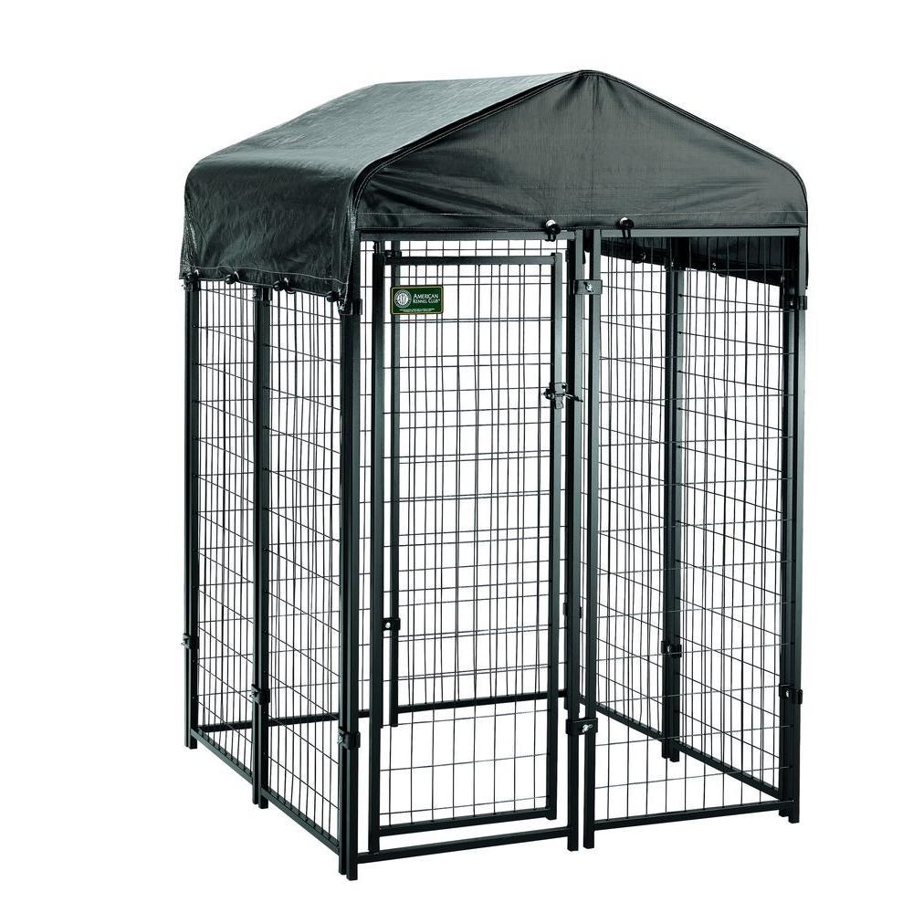 4 ft. x 4 ft. x 6 ft. Uptown Premium Dog Kennel Kit