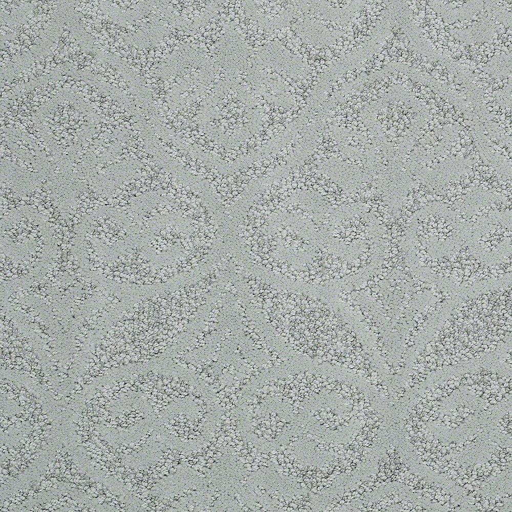 Carpet Sample - Perfectly Posh - In Color Aspen 8 in. x 8 in.
