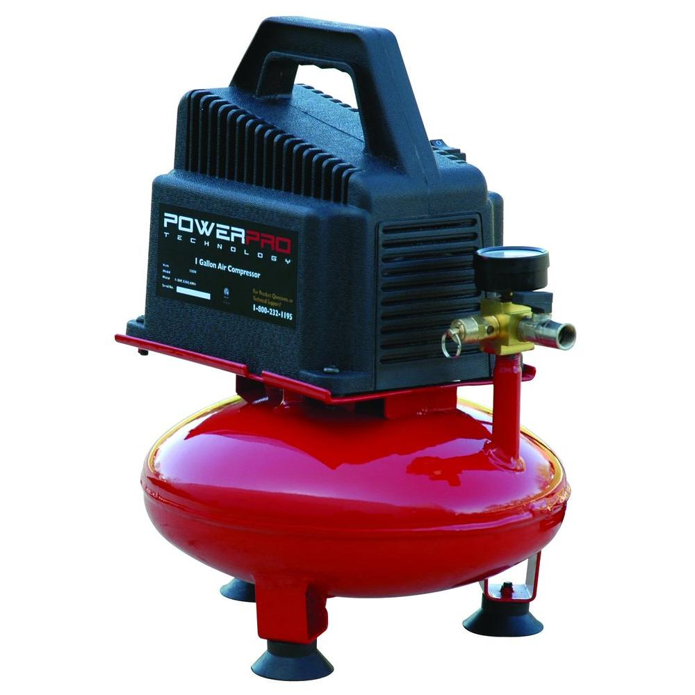 Power Pro Technology 1 Gal. Portable Electric Air Compressor