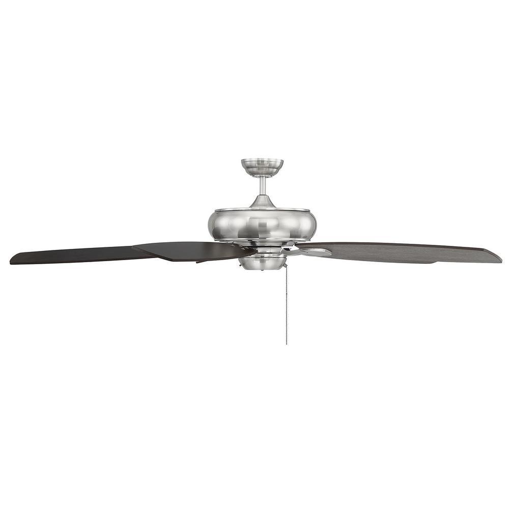 Filament Design 68 in. Brushed Pewter Ceiling Fan