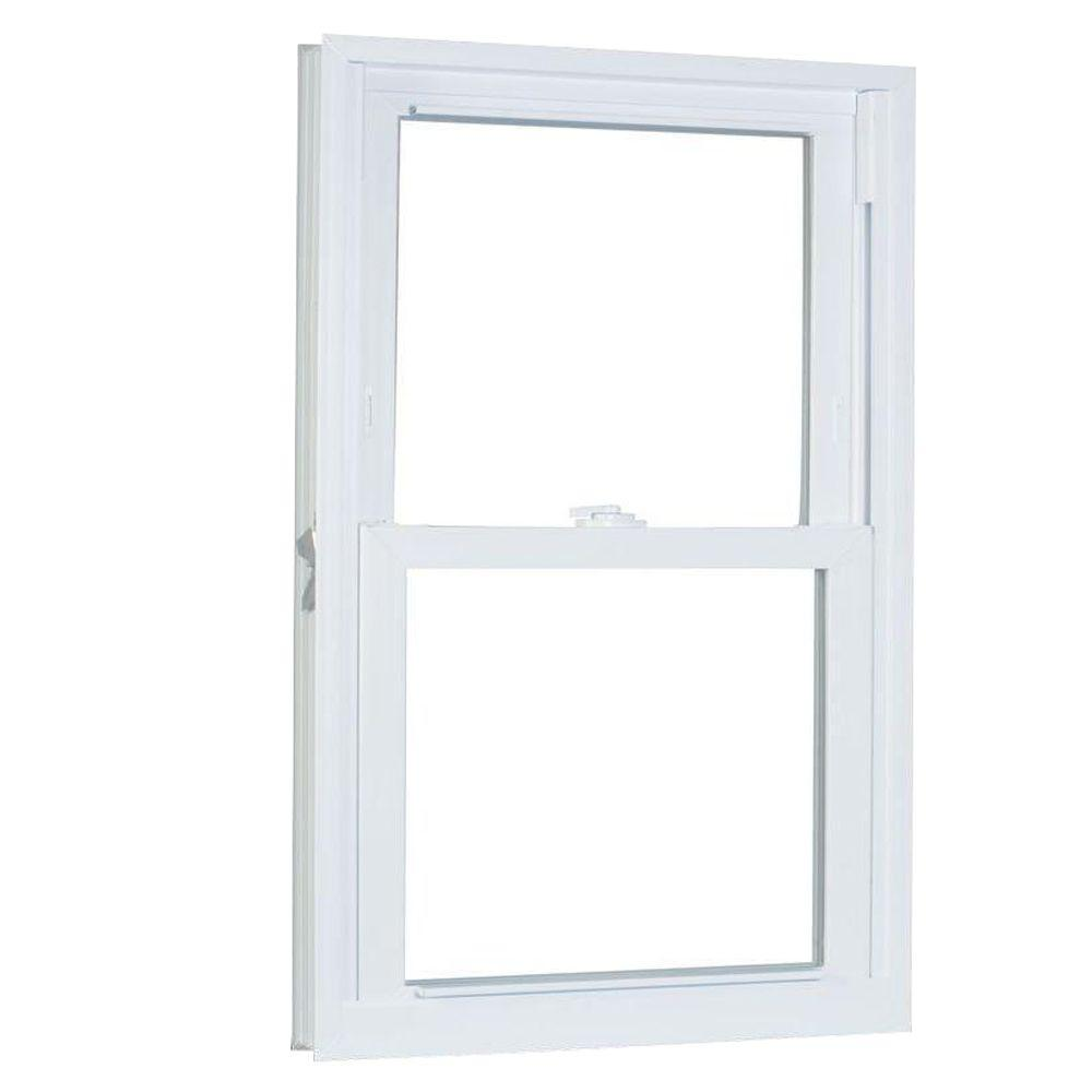 27.75 in. x 37.25 in. 70 Series Pro Double Hung White