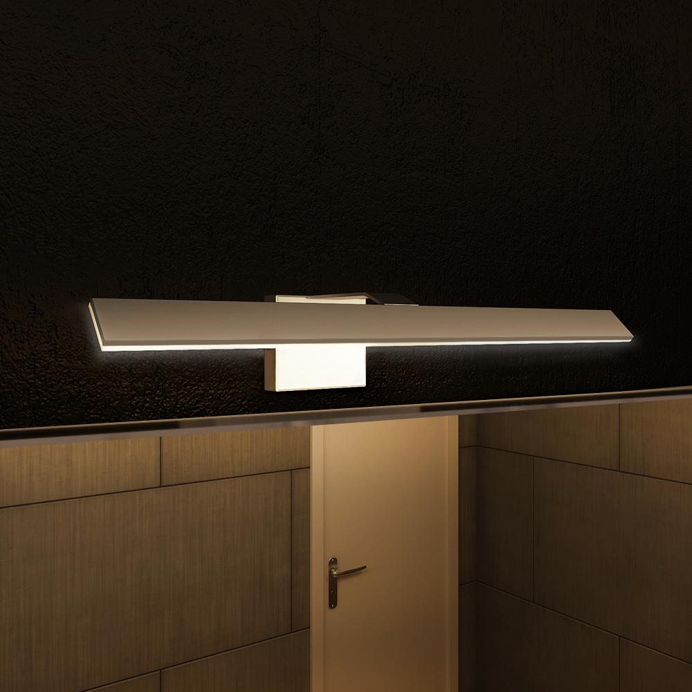 Bathroom Vanity Lighting Concept For Modern Houses: VONN Lighting Wezen Collection 21 In. Silver/Nickel Low