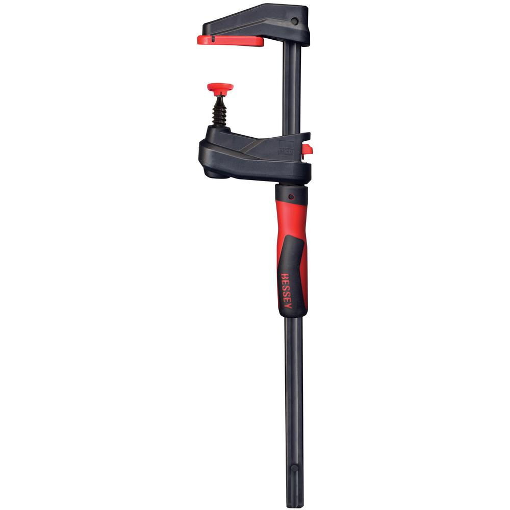 BESSEY GearKlamp 12 in. Capacity 2-3/8 in. Throat 450 lbs. Clamping Force