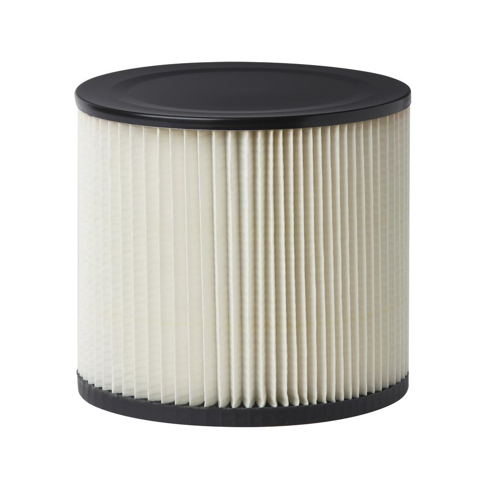 Multi-Fit Standard Replacement Cartridge Filter for Most Genie and Shop-Vac Wet/Dry Vacuums (18-Pack)