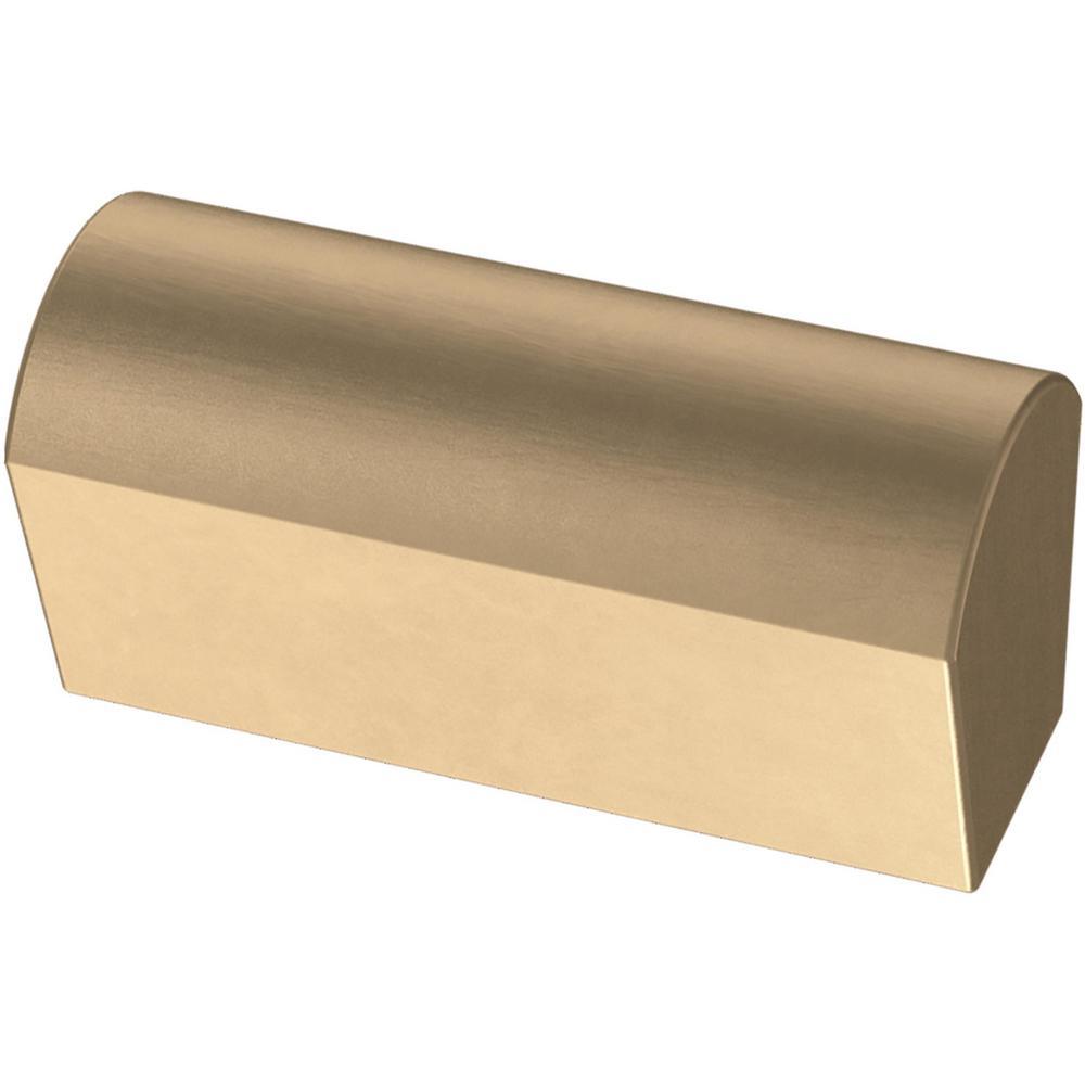 Modern Arch 1-1/2 in. (25 mm) Champagne Bronze Cabinet Knob (5-Pack)
