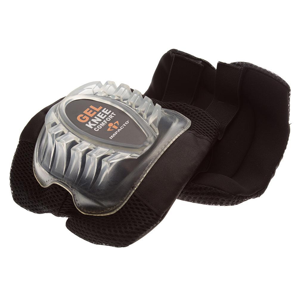 Black Gel Comfort Knee Pads